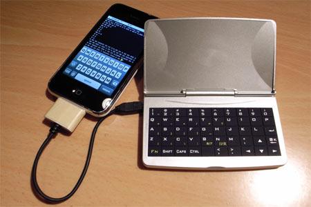 tastiera esterna iphone
