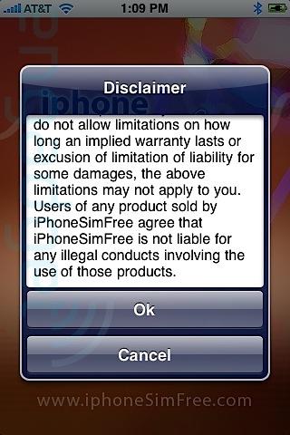iphonesimfree procedura di sblocco iphone passo 3