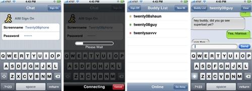 instant messenger iphone