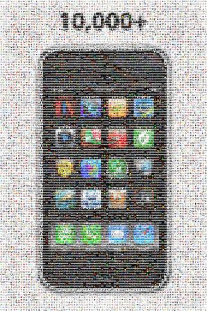 mosaico iphone