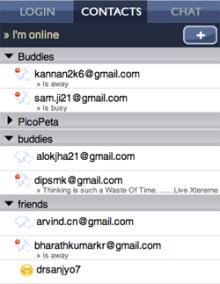 Mundu IM instant messenger iPhone